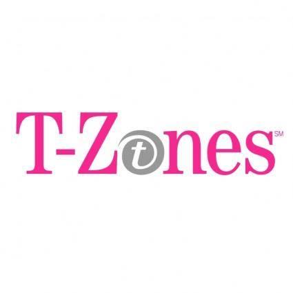 free vector T zones
