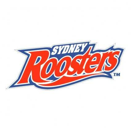 free vector Sydney roosters 0