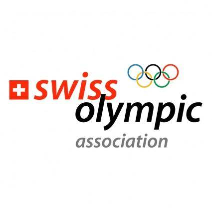 free vector Swiss olympic association