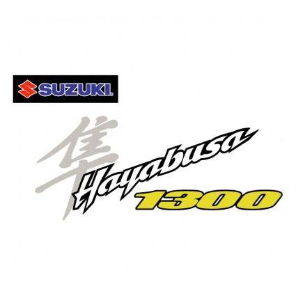 free vector Suzuki hayabusa 1300