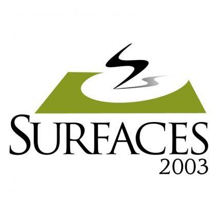 Surfaces 2003 1