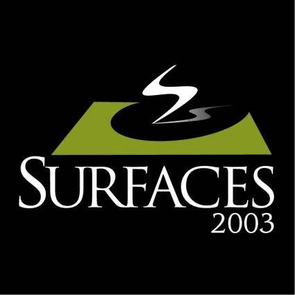 Surfaces 2003 0
