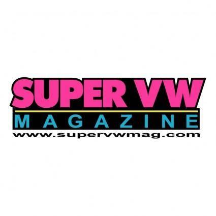 free vector Super vw magazine 0