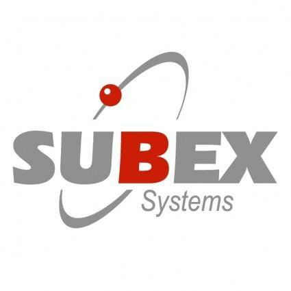 free vector Subex systems