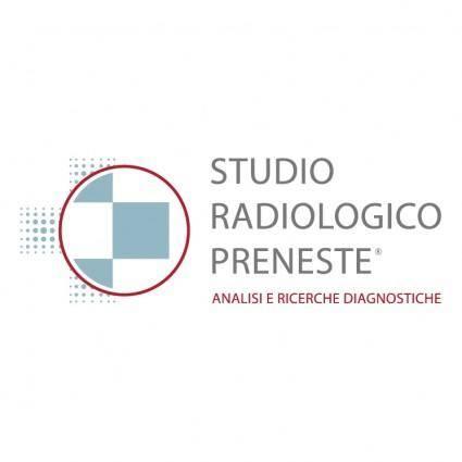 free vector Studio radiologico preneste