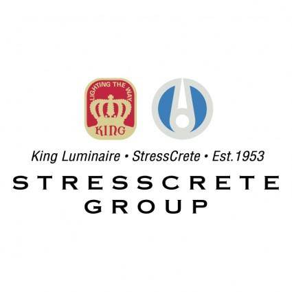free vector Stresscrete group