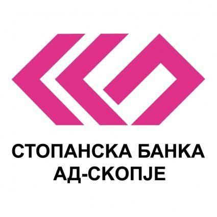 free vector Stopanska banka