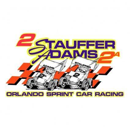 free vector Stauffer adams racing
