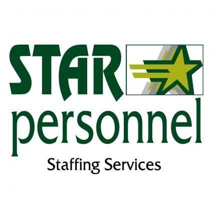 free vector Star personel