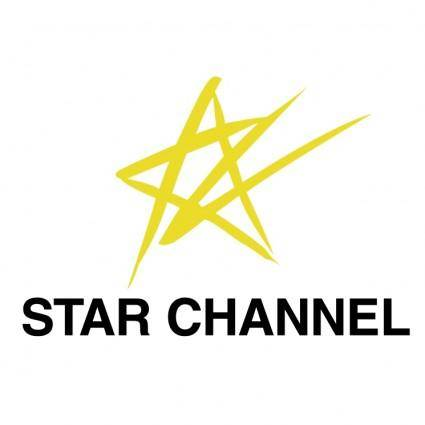 free vector Star channel