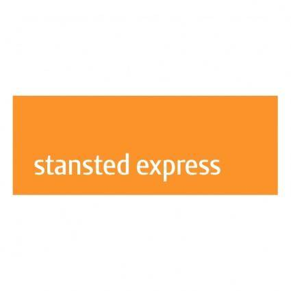 free vector Stansted express