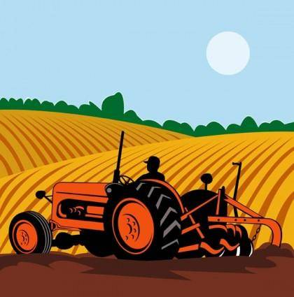 free vector Farming illustrator vector
