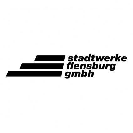 free vector Stadtwerke flensburg