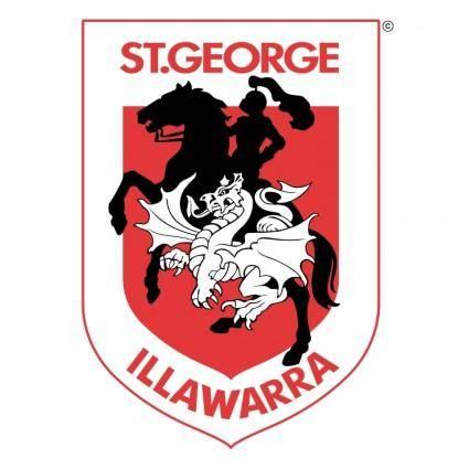 free vector St george illawarra dragons