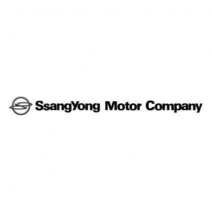 free vector Ssangyong motor company