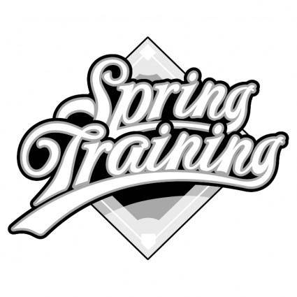 free vector Spring training