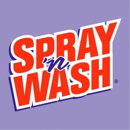 free vector Spray n wash