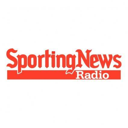free vector Sporting news radio
