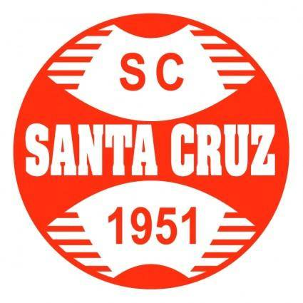free vector Sport club santa cruz de bom jesus rs