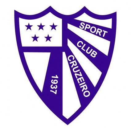 free vector Sport club cruzeiro de sao borja rs