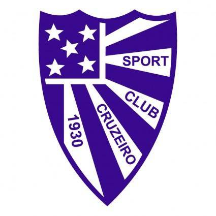 free vector Sport club cruzeiro de faxinal do soturno rs