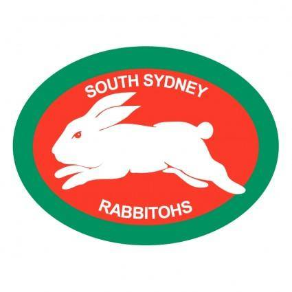 free vector South sydney rabbitohs