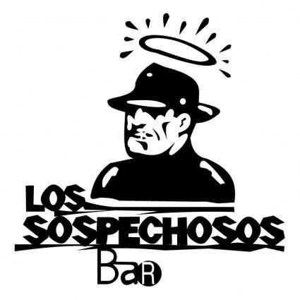 free vector Sospechosos bar