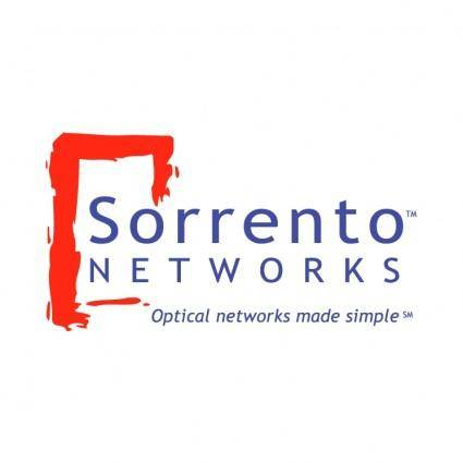 free vector Sorrento networks