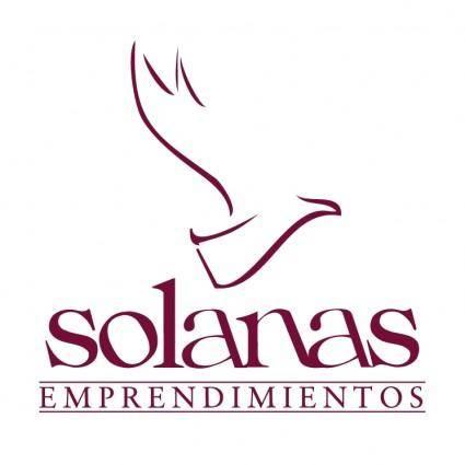 free vector Solanas emprendimientos