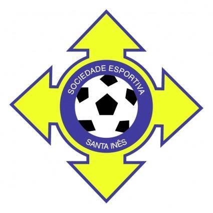 free vector Sociedade esportiva santa ines ma