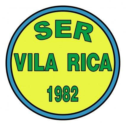 free vector Sociedade esportiva e recreativa vila rica de portao rs