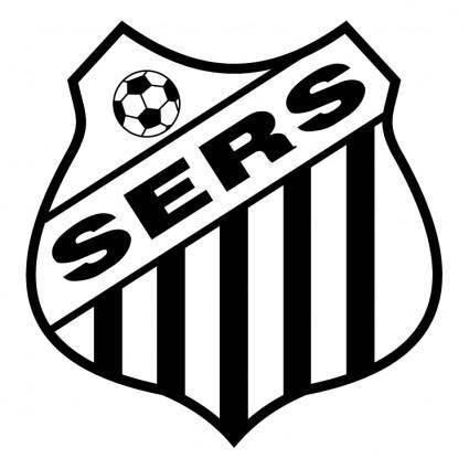 free vector Sociedade esportiva e recreativa santos de taquara rs