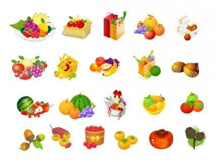 free vector Fruit series vector