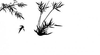 free vector Bamboo vector