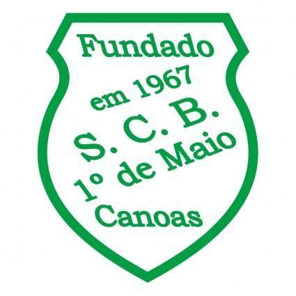free vector Sociedade cultural e beneficente 1%D1%94 de maio de canoas rs