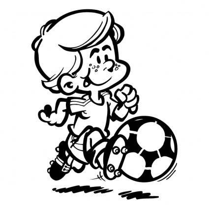 free vector Soccer player