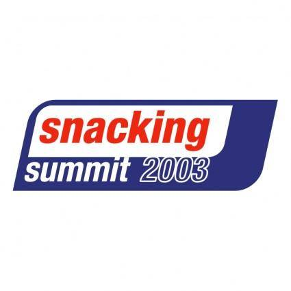 Snacking summit 2003