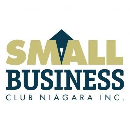 free vector Small business club niagara