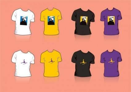free vector Kobe bryant tshirt design