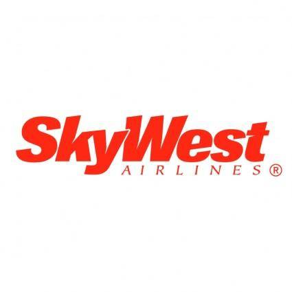 free vector Skywest airlines
