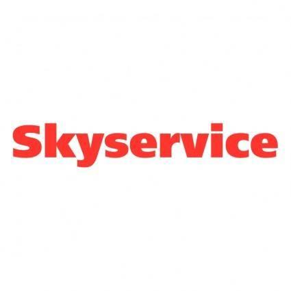 free vector Skyservice