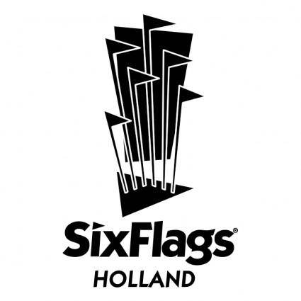 free vector Sixflags holland