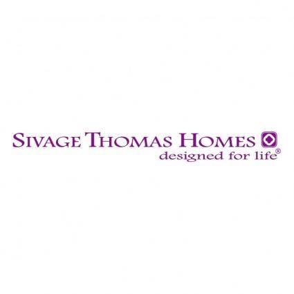 free vector Sivage thomas homes 0