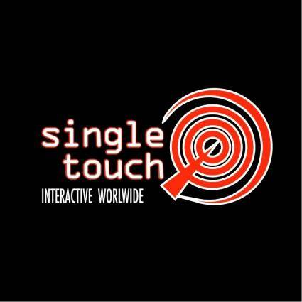free vector Single touch interactive worlwide