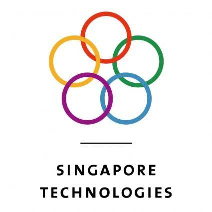 free vector Singapore technologies 0