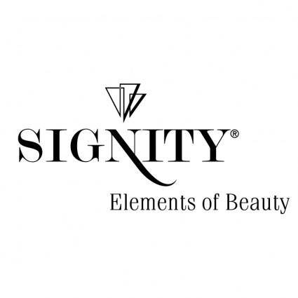 free vector Signity