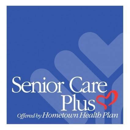 free vector Senior care plus