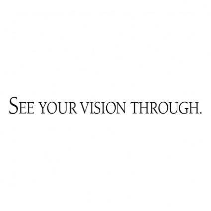 free vector See your vision through