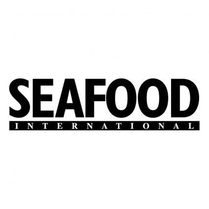 free vector Seafood international