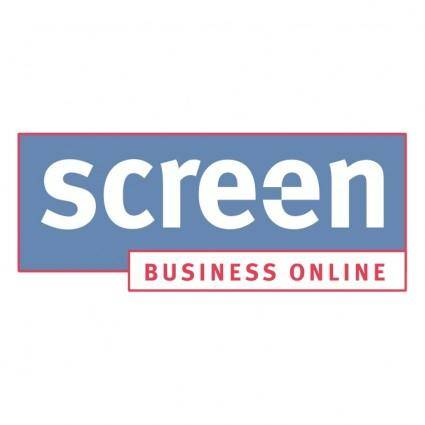free vector Screen business online